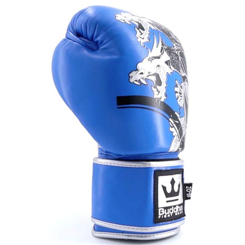 c409ddb7f Luvas de boxe Buddha Competition Amateur Dragon Azul   Frete Gratis