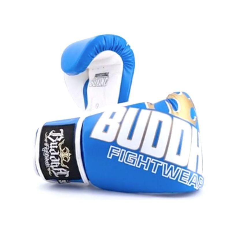 27e0e707d Luvas de boxe Buddha Millenium azul   branco   Frete Gratis