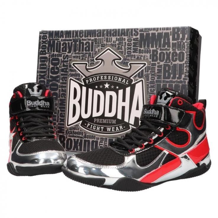 Botas de boxe Buddha One black / silver
