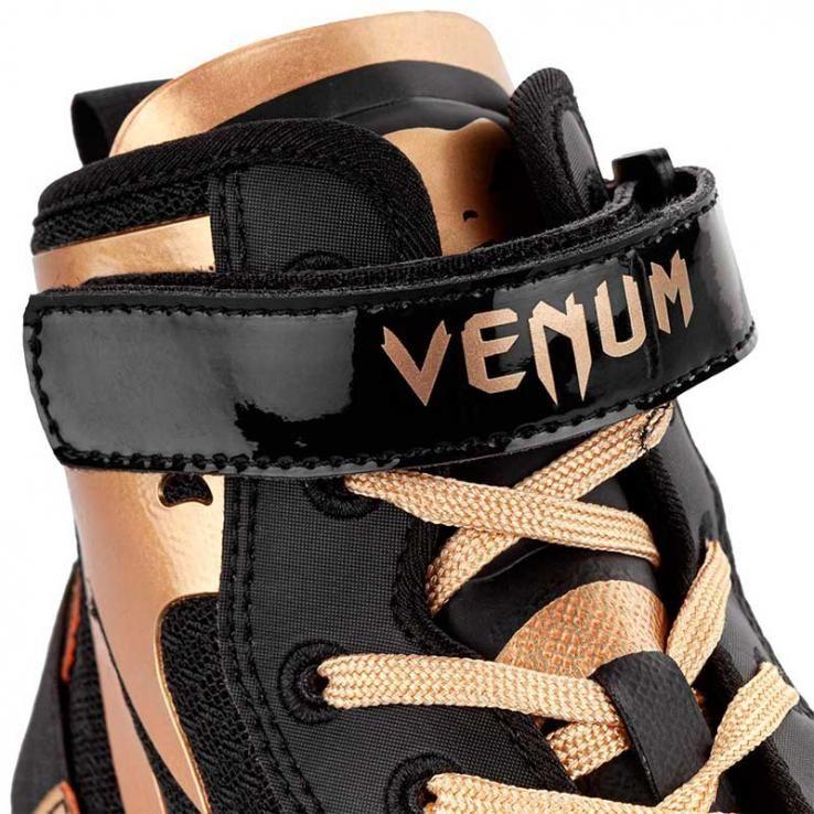 Botas de boxe Venum Elite Giant Low black/golden