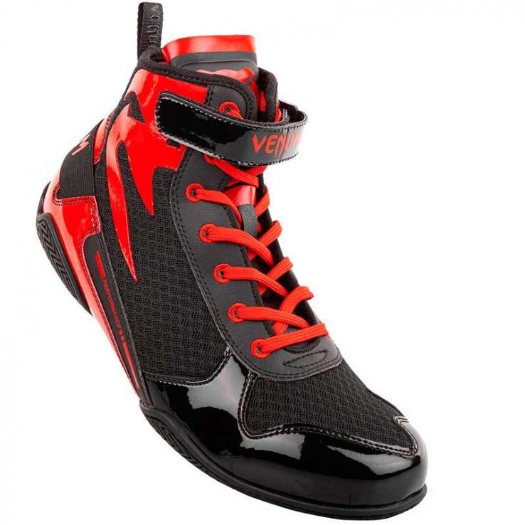 Botas de boxe Venum Elite Giant Low black/red