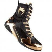 Boxe Botas Venum Elite Preto / Ouro