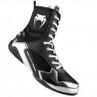 Boxe Botas Venum Elite Black/Silver