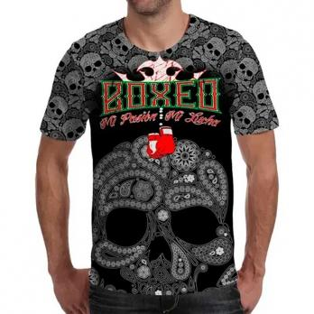 Camiseta  Buddha Mexican Boxing