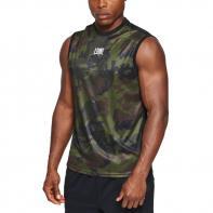 T-shirt de boxe Leone Camouflage green