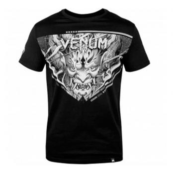 Camiseta Venum Devil Branco/Preto