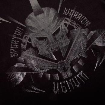 Camiseta Venum Gladiator Preto Matte Kids