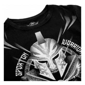 Camiseta Venum Gladiator Preto Branco Kids