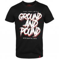 Camiseta Venum  Ground And Pound Preto
