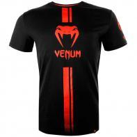 Camiseta Venum Logos preto / vermelho