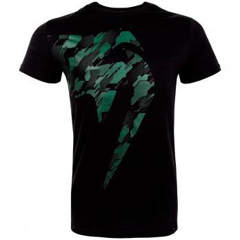 Camiseta Venum Tecmo Giant Khaki/Black