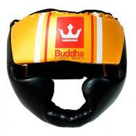 Capacete de boxe Buddha Training Preto Gold