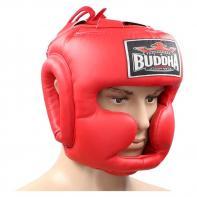 Capacete de boxe Buddha training Thailand red