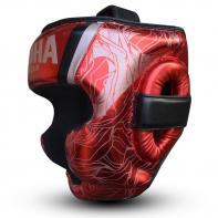 Capacete de boxe Buddha Galaxy vermelho
