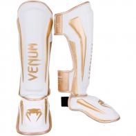 Caneleiras Venum Elite  White/Gold