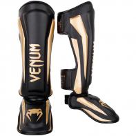 Caneleiras Venum Elite  Black/Gold