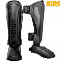 Caneleiras Venum Kids Elite black