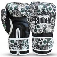 Luvas de boxe Buda mexicano preto