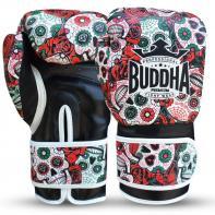 Luvas de boxe Buda vermelho mexicano