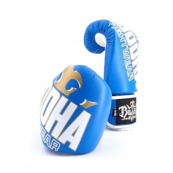 Luvas de boxe Buddha Millenium azul / branco