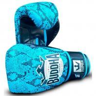 Luvas de boxe Buddha Snake cyan