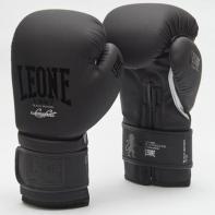"""Luvas de boxe Leone  GN059 """"Black&White"""" Preto"""