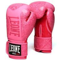 Luvas de boxe Leone Maori rosa