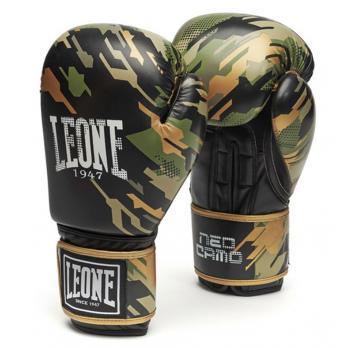 Luvas de boxe Leone Neo Camo Green