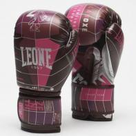 Luvas de boxe Leone Zenith fucsia