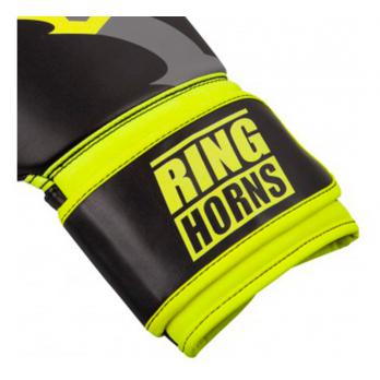 Luvas de boxe Ringhorns Charger Preto Neo Yellow By Venum