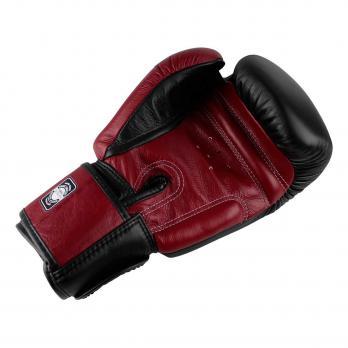 Luvas de boxe Twins BGVL 3  Black / Wine Red