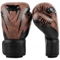 Luvas de boxe Venum Impact black/brown