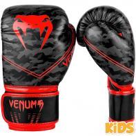 Luvas de boxe criança Venum Okinawa 2.0 black / red