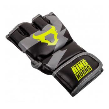 Luvas de MMA Ringhorns Charger Black Neo Yellow By Venum
