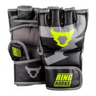 Luvas de MMA Ringhorns Charger Black Neo Yellow By Venum