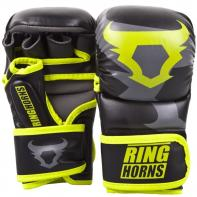 Luvas de MMA Ringhorns  Charger Sparring Neo Yellow By Venum