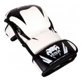 Luvas de MMA Venum Impact Sparring Branco / preto