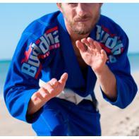 Kimono Jiu Jitsu Buddha DeLuxe azul