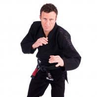 Kimono Jiu Jitsu Tatami Essential preto