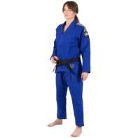 Kimono Jiu Jitsu Tatami Nova Absolute Ladies Azul + Faixa Branco