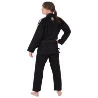 Kimono Jiu Jitsu Tatami Nova Absolute Ladies Preto + Faixa Branco