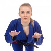Kimono de Jiu Jitsu de mulher Tatami  The Original Ladies azul