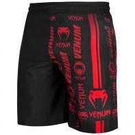 Calçoes Fitness Venum Logos preto / vermelho