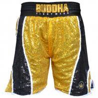 Calções Boxe Buddha Fanatik golden