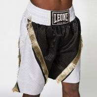 Calções boxe Leone Legend white / black
