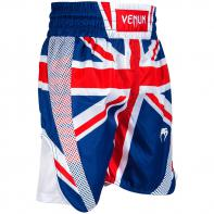 Calções Boxe Venum Elite UK Blue / Red-White