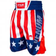 Calções Boxe Venum Elite USA red-white/blue