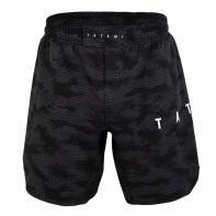 Calções MMA Tatami Standard Edition Black Digital Camo Grapple Fit Shorts