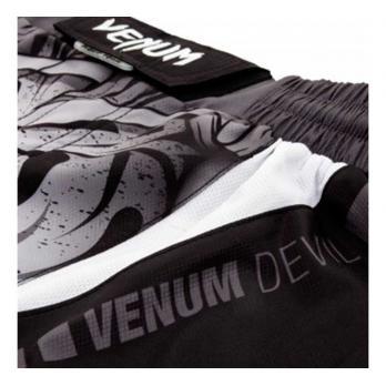Calçoes MMA Venum Devil  Branco / Preto