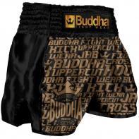 Calções  Muay Thai Buddha Retro Golden